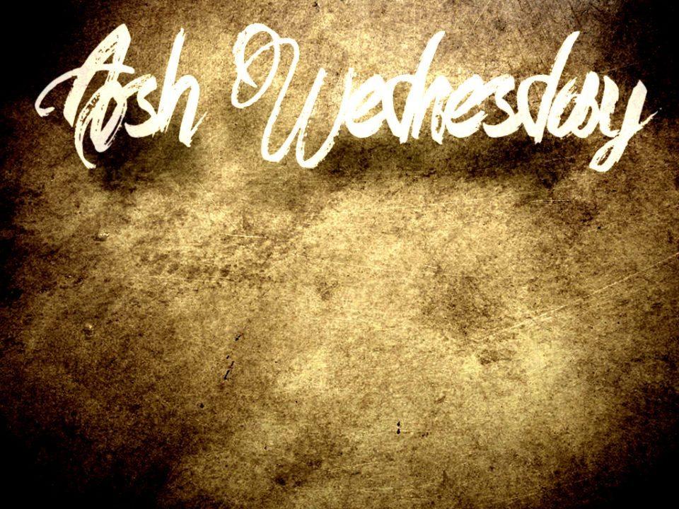 Ash Wednesday Graphics